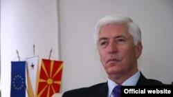 Тито Петковски, пратеник, претседател на НСДП.