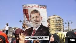 Sa jednog od protesta pristalica svrgnutog predsednika Mohameda Morsija