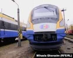 Tren renovat în România