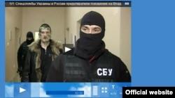 Российское телевидение сообщило о готовившемся покушении.