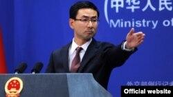 Гэн Шуан, Қытай сыртқы істер министрлігінің баспасөз хатшысы.