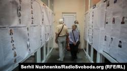 Під час голосування на виборах до Верховної Ради України. Київ, 21 липня 2019 року