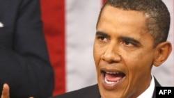 Президент Обама выступает на сессии Конгресса США , 9 сентября 2009 года