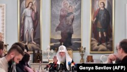Пресс-конференция Филарета в Киеве