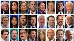 Американские вопросы. Две дюжины кандидатов в президенты