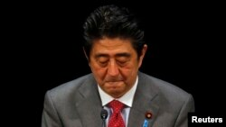 Kryeministri i Japonisë, Shizno Abe.