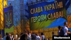 Під час відзначення Дня Незалежності України в центрі Києва, 24 серпня 2018 року
