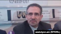 Հայաստանում Իրանի արտակարգ եւ լիազոր դեսպան Մուհամմադ Ռեիսի