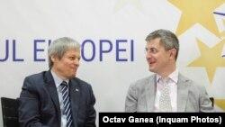 Dacian Cioloș și Dan Barna, șefii Alianței USR-Plus.