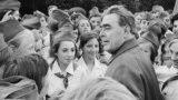 Леонид Ильич Брежнев в Киеве, 1973 год