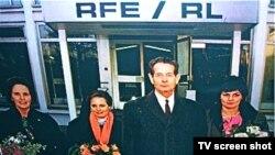 Михай I - гость Радио Свобода