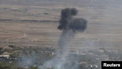 بمباران در نزدیکی مرز سوریه و اسرائیل (عکس تزئینی است)