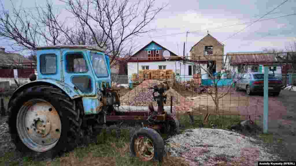 Частное подворье на улице Перекопской