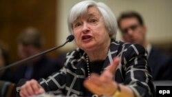 Глава Федеральной резервной системы Джанет Йеллен.