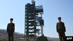 Stacioni Sohae për lansimin e raketave në Tongchang të Koresë së Veriut. Fotografi nga arkivi.