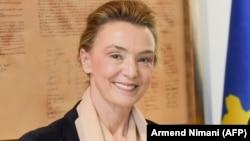 Министерката за надворешни работи на Хрватска, Марија Пејчиновиќ Буриќ.