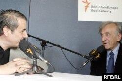 Elie Wiesel la Praga intervievat de Victor Eskenasy