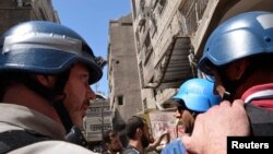 Инспекторы ООН направляются в одно из мест возможной химической атаки под Дамаском
