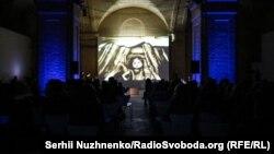 Показ вистави Terra Crimea в «Мистецькому Арсеналі». Київ, 13 квітня 2019 року