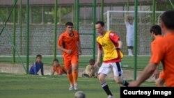 Икбол Араванда уюштурган мини-футбол чемпионаты.