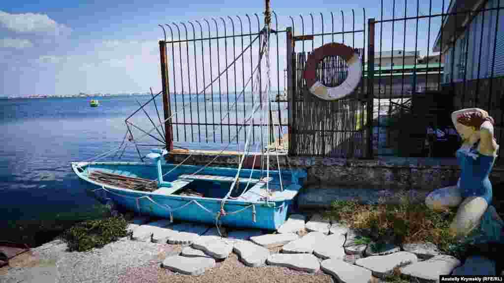 «Пляжниця» на березі Донузлава