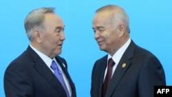 N.Nazarbayev və İ.Kərimov