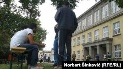 Գերմանիա - Փախստականների ճամբար Լայպցիգում, 28-ը սեպտեմբերի, 2015թ․