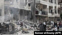 نمایی از شهر عفرین (عکس از آرشیو)