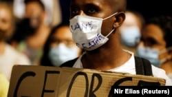 Pamje nga protestat në SHBA.