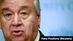 Generalni sekretar Ujedinjenih nacija (UN) Antonio Gutereš, arhivska fotografija