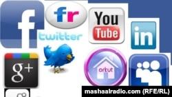Sosial medialaryň käbirleriniň logotipleri