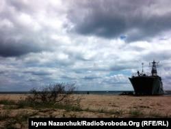 Десантування з корабля «Юрій Оліфіренко» під час навчань «Сі Бриз-2017»