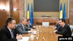 Premierul Ludovic Orban s-a întâlnit, pe 11 decembrie, la Palatul Victoria, cu reprezentanții Exxon