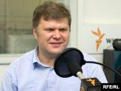 """Cергей Митрохин, лидер партии """"Яблоко""""."""