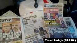Dnevni listovi u Srbiji