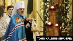 Митрополит Ризький і всієї Латвії Олександр (в миру Олександр Кудряшов). Рига, 8 січня 2018 року