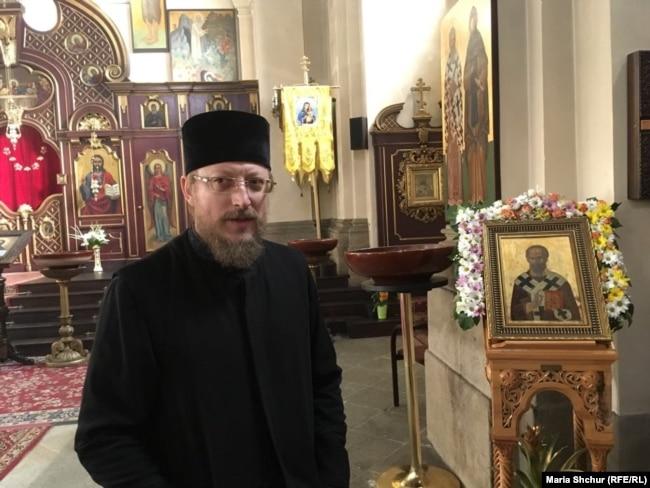 Отець Василь Черепко, Православний собор св. Кирила і Мефодія, Прага