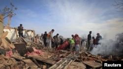 Последствия теракта 2 февраля в Пакистане