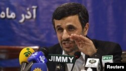 محمود احمدی نژاد، رييس جمهوری ايران