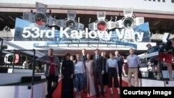 Pamje arkivi nga një festival i filmit në Karlovi Vari.