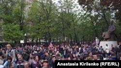 Protestë e opozitës ruse