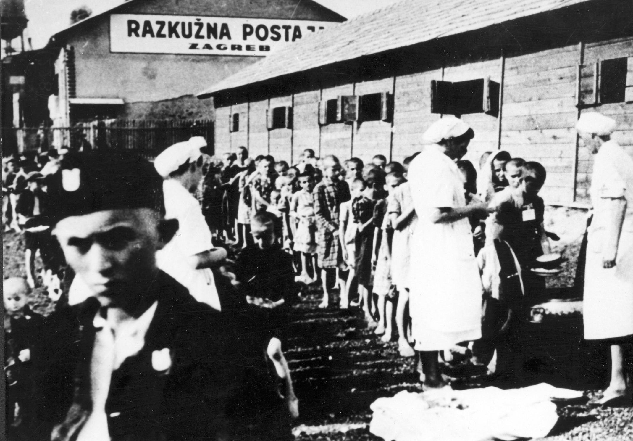 Tranzitna stanica u Zagrebu 1942. godine, Ustupljena fotografija: Spomen Područje Jasenovac