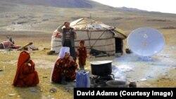 Давид Адамс барган Жазгоз жайлоосунан көрүнүш