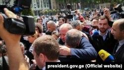 Георгий Маргвелашвили лично выразил соболезнование Зазе Саралидзе
