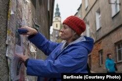 """Agnieszka Mandat în filmul polonez """"Urmă"""" (Foto: Berlinale)"""