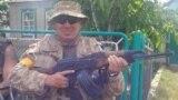 Иван Безъязыков в бытность разведчиком Вооруженных сил Украины
