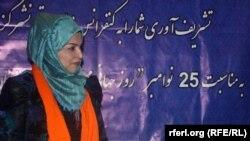 قدریه یزدان پرست کمیشنر بخش زنان کمیسیون حقوق بشر افغانستان