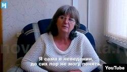 """Светлана Агеева, мать Виктора Агеева, фрагмент видео """"Новой газеты"""""""