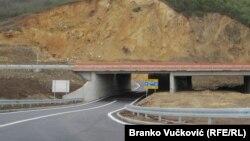 Autoput između Kraljeva i Kragujevca kod Koridora 10