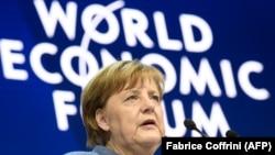 Angela Merkel na svjetskom ekonomskom forumu u Davosu